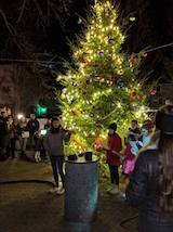 Cold Spring Depot Tree Lighting